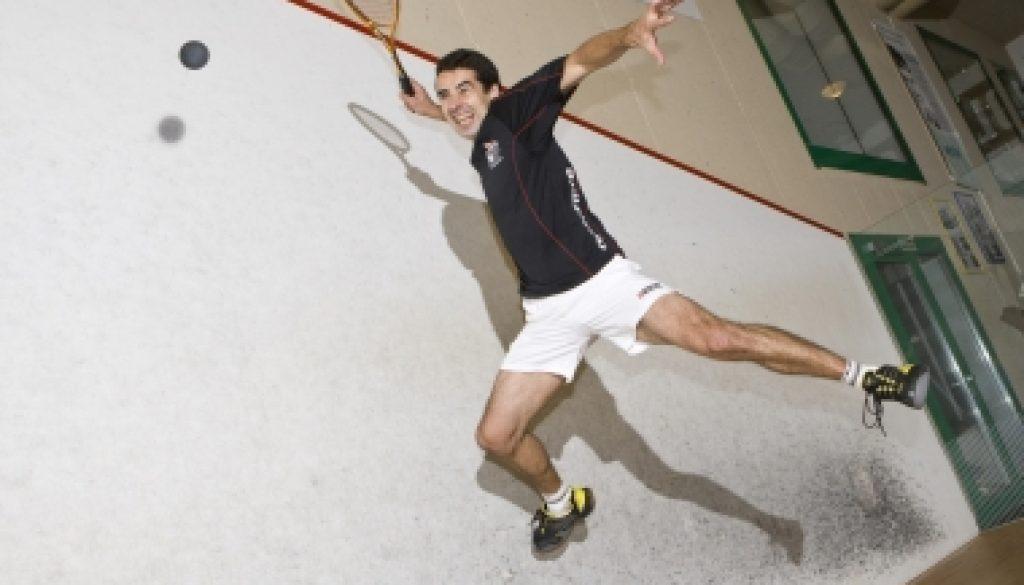 David Heath Squash Smash Shot