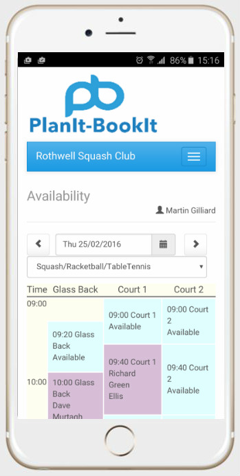 PlanIt-BookIt – Online Booking System