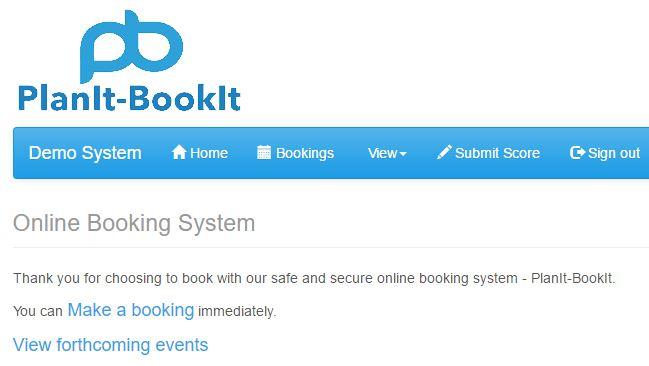 make a booking link